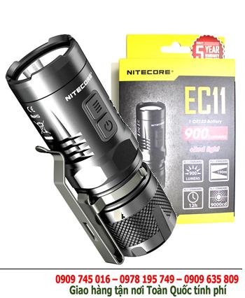 Đèn pin siêu sáng NItecore EC11 bóng 900lumens chiếu xa 190m, XM-L2 U2 CREELED chuẩn FL1