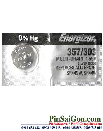 Pin cúc áo Energizer SR44SW silver oxide 1.55v