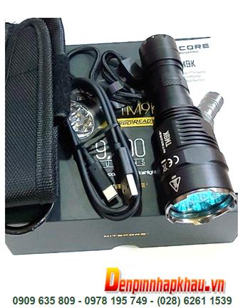 Nitecore TM-9K; Đèn pin siêu sáng Nitecore TM-9K với 9500Lumens